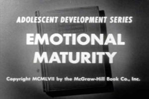 Emotional Maturity 1