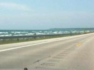 Lake Michigan St. Ignace Side