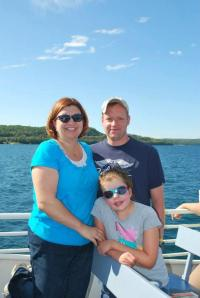 Family at Lake Superior