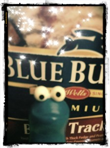 Blue Bunny Cookie